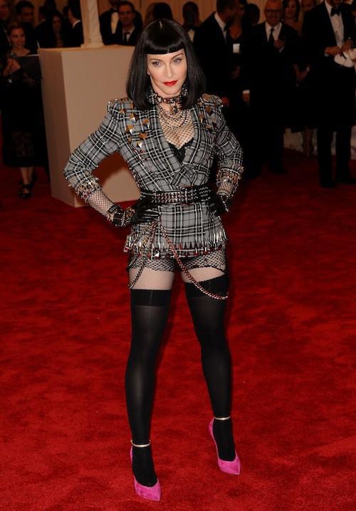 Madonna lors du Met Ball de 2013