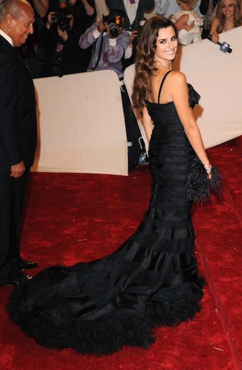 Penelope Cruz lors du Met Ball de 2011