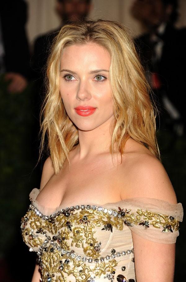 Scarlett Johansson au MET Ball le 7 mai 2012