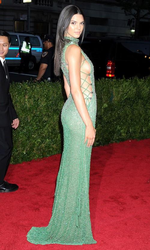 Kendall Jenner au Met Gala 2015, le 4 mai 2015
