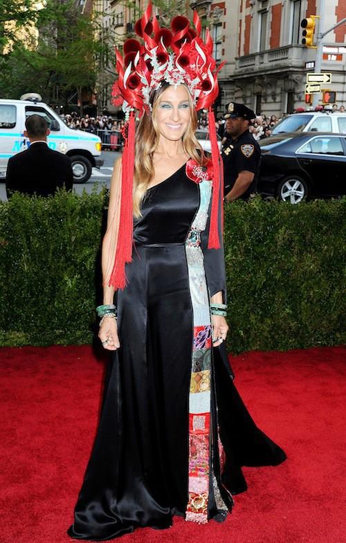 Sarah Jessica Parker en H&M au Met Gala, le 4 mai 2015