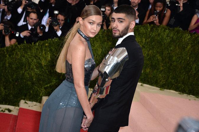 Gigi Hadid et Zayn Malik au gala du Met ce lundi 2 mai