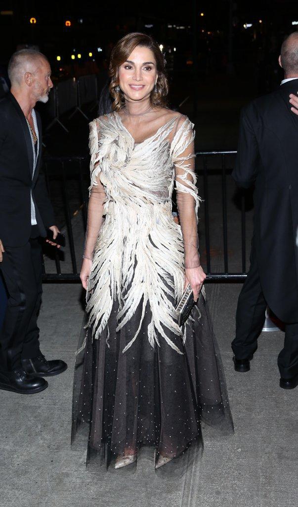 Photos : Met Gala 2016 : Rania de Jordanie reine du style à New York !