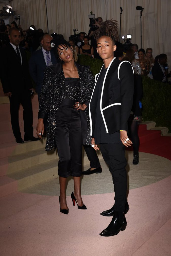 Willow et Jaden Smith au gala du Met ce lundi 2 mai