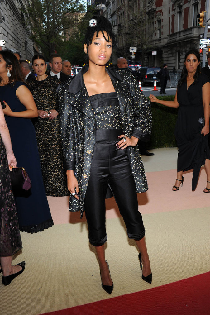 Willow Smith au gala du Met ce lundi 2 mai