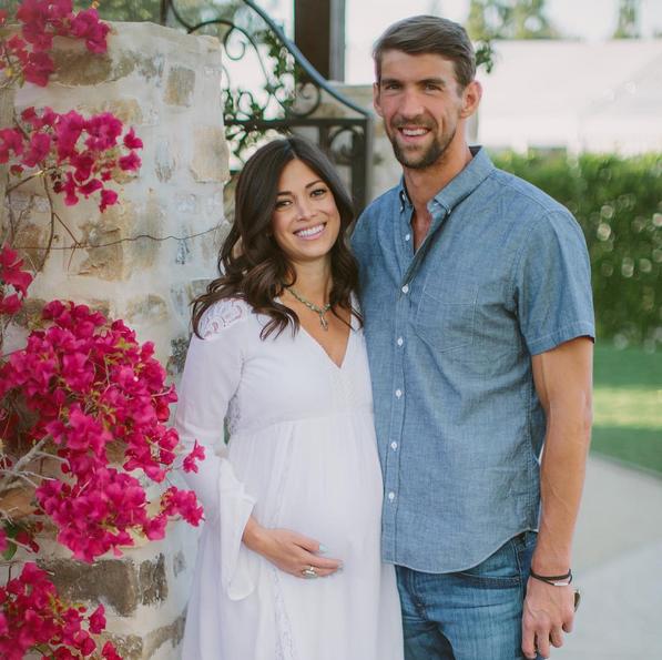 Photos : Michael Phelps est papa d'un petit Boomer !