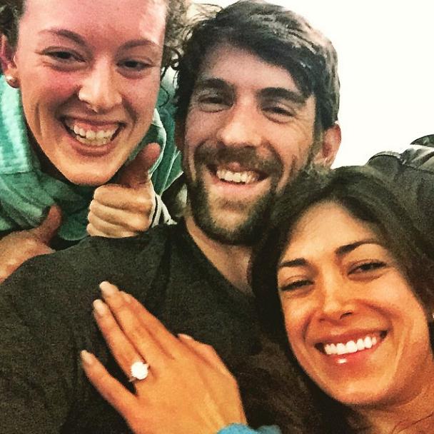 Michael Phelps : le nageur va se marier !