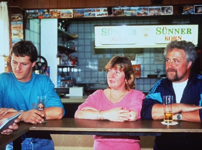 Michael Schumacher et ses parents Rolph et Elizabeth !