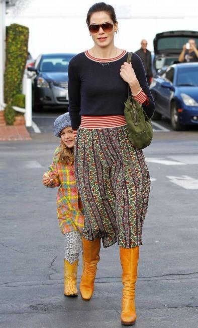 Michelle Monaghan et Willow, Los Angeles, 18 décembre 2012.