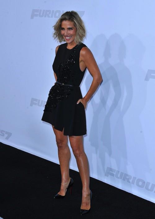 Elsa Pataky lors de la première de Furious 7 à Los Angeles