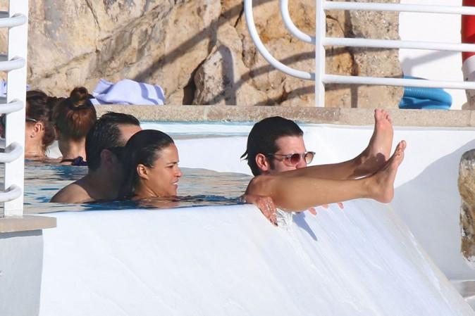 Michelle Rodriguez à l'Eden Roc, au Cap d'Antibes, le 23 mai 2014