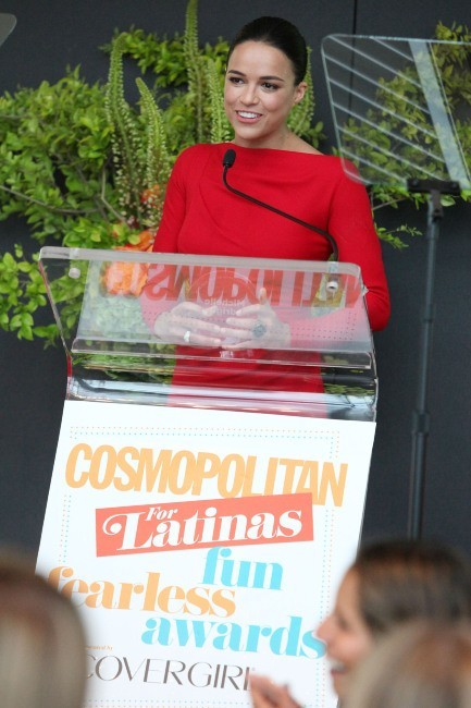 Michelle Rodriguez aux Fun Fearless Latina Awards