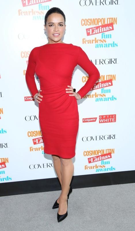 Michelle Rodriguez et son make-up super léger