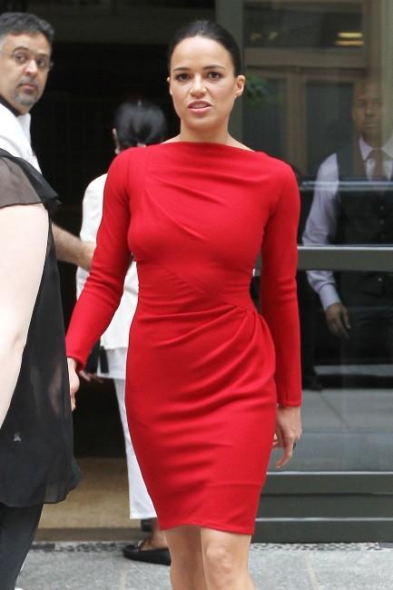 Michelle Rodriguez, flamboyante et naturelle