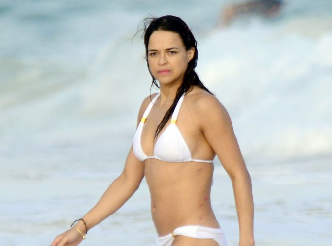 Photos : Michelle Rodriguez : nouvelle idylle féminine au Mexique ?
