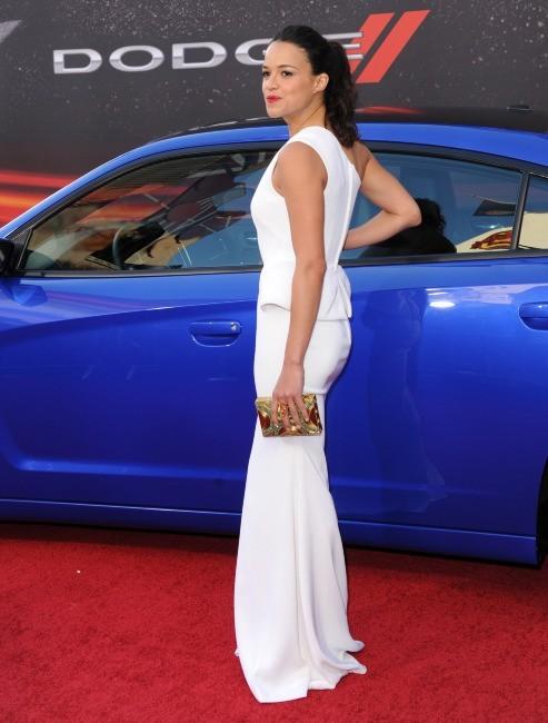 Michelle Rodriguez, au top en toute simplicité