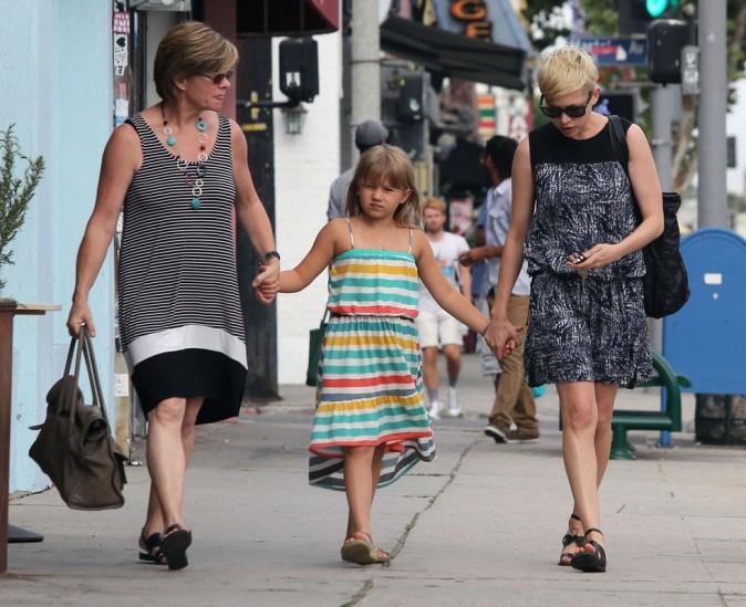 Sortie entre filles avec la mère de Michelle