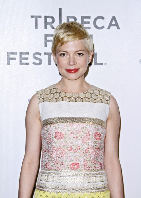 Michelle Williams lors de la première du film Take This Waltz à New York, le 22 avril 2012.