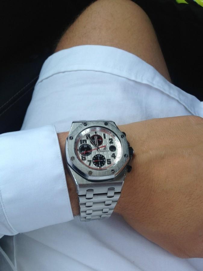 La montre à 22 000 euros...