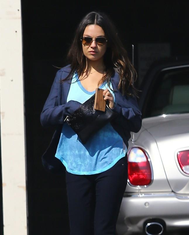 Mila Kunis le 18 février 2013 à Beverly Hills