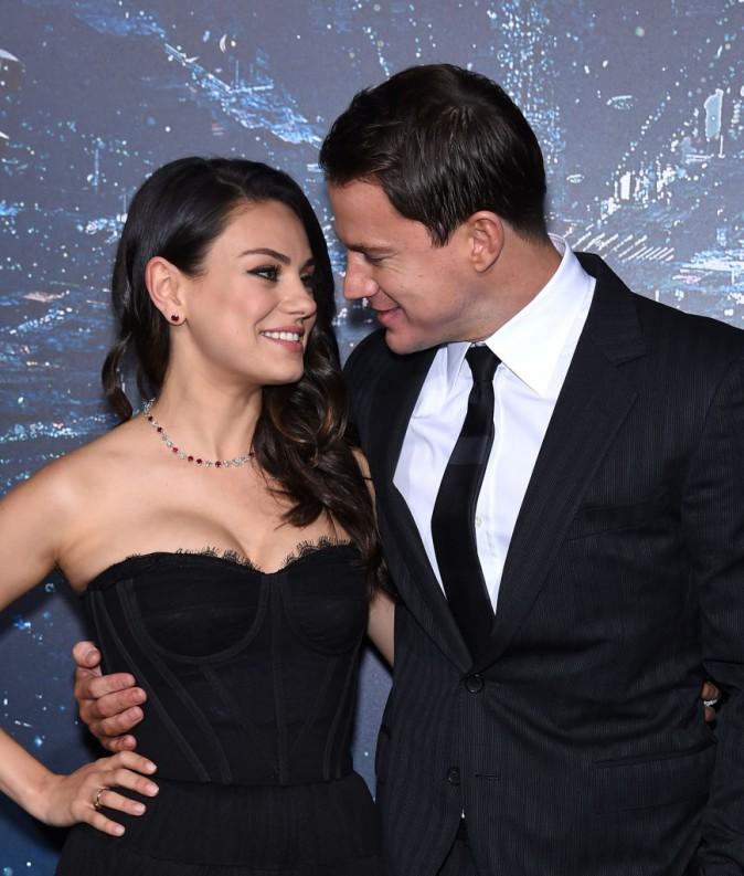Mila Kunis et Channing Tatum le 2 février 2015