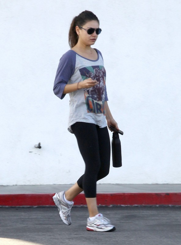 Mila Kunis le 18 octobre 2012 à Studio City