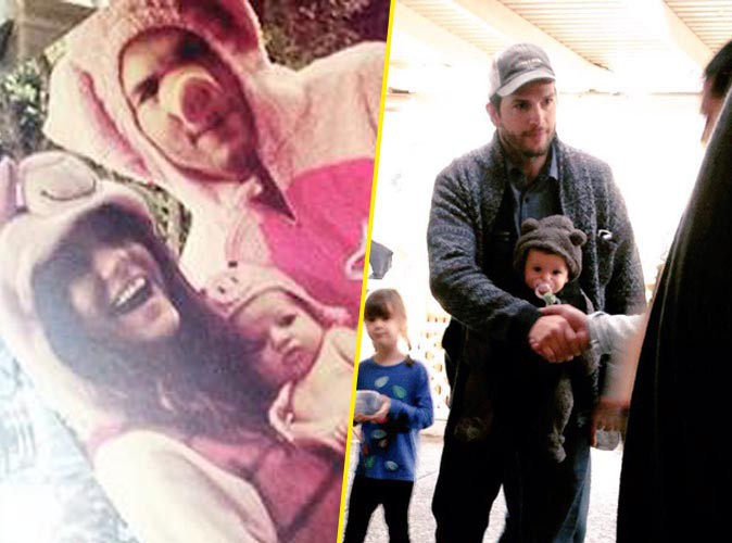 Photos : Mila Kunis et Ashton Kutcher : découvrez enfin les photos de Wyatt !