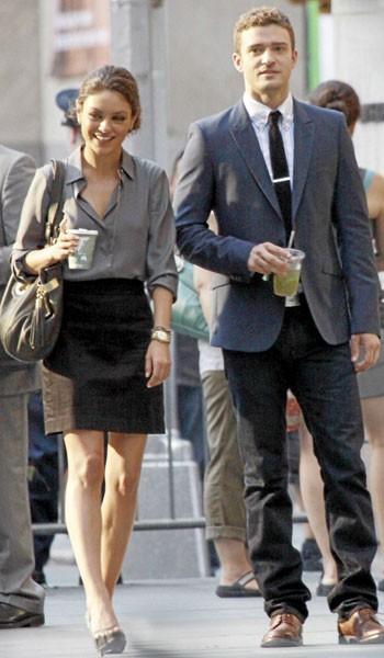 Photos : Mila Kunis avec Justin Timberlake