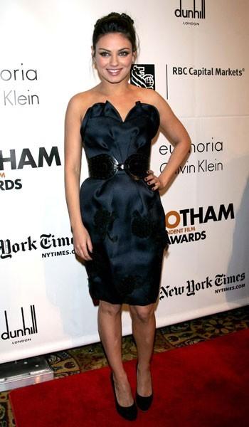 Photos : Mila Kunis pour les 20 ans des Gotham Independent Film Awards