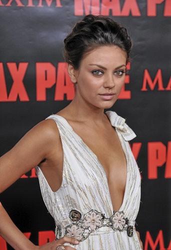 Photos : Mila Kunis pour Max Payne