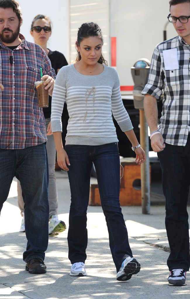 Mila Kunis le 12 septembre 2012 à New York