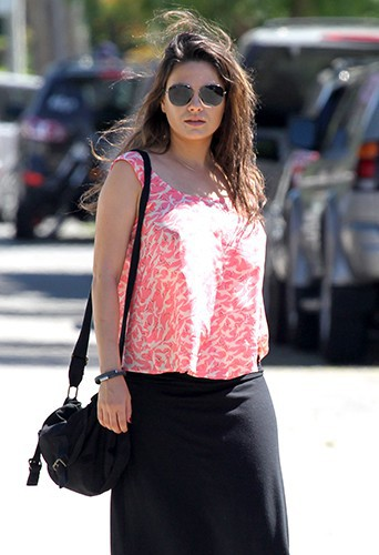 Mila Kunis à Los Angeles le 3 mai 2014
