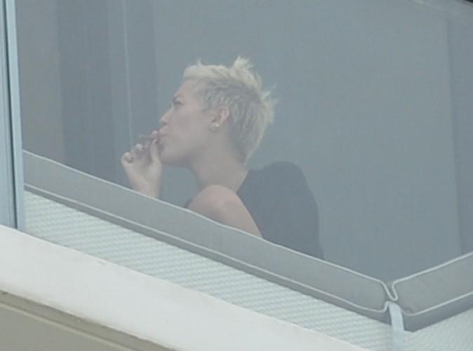 Miley Cyrus à Miami le 6 avril 2013
