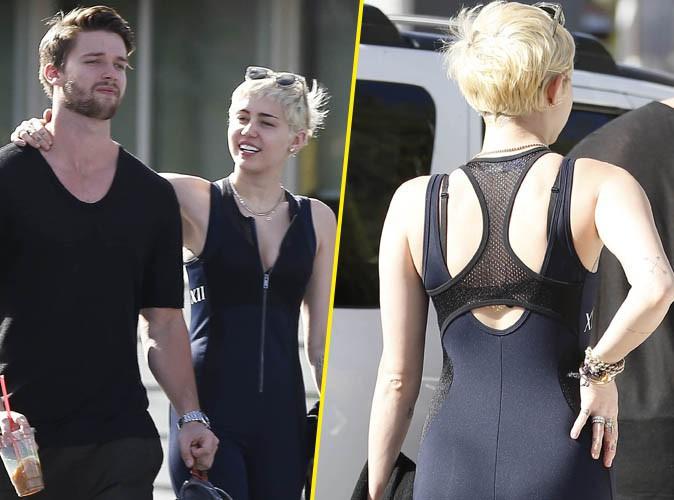 Miley Cyrus : bien moulée pour séduire son beau Patrick, elle part sans lui en soirée !