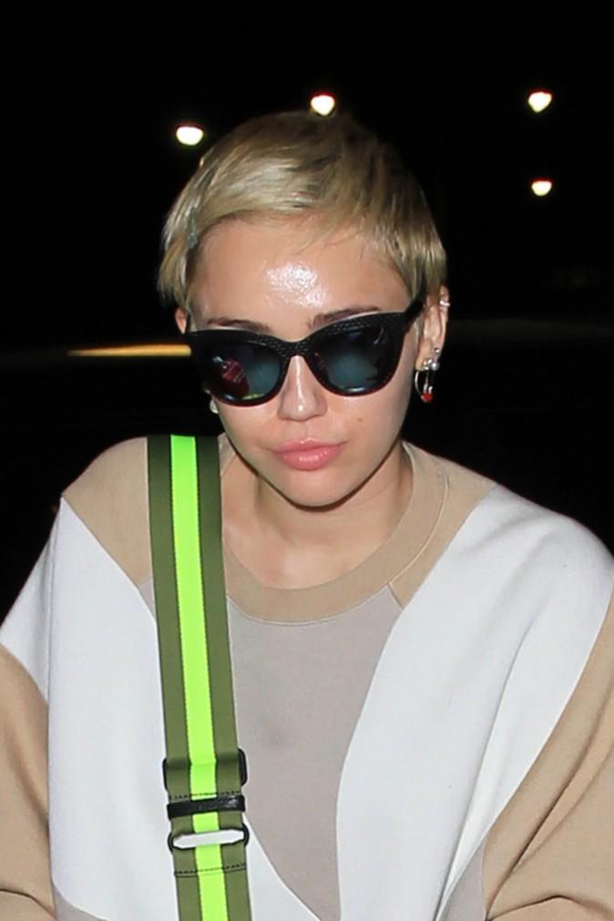 Miley Cyrus à Los Angeles le 6 octobre 2014