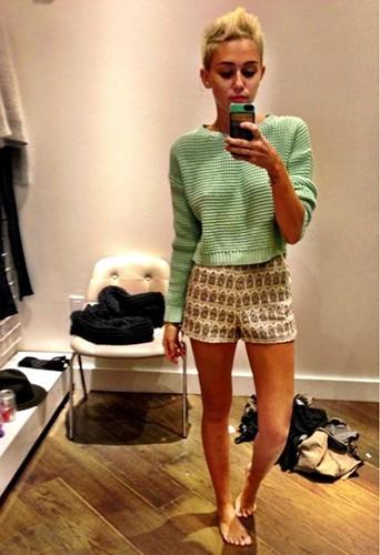 Miley Cyrus en janvier 2013