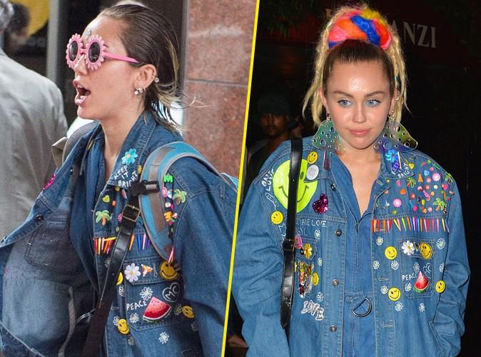 Miley Cyrus à New York le 29 septembre 2015