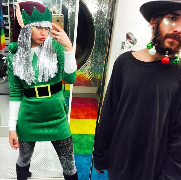 Photos : Miley Cyrus : elle postule pour devenir lutin du Père Noël !