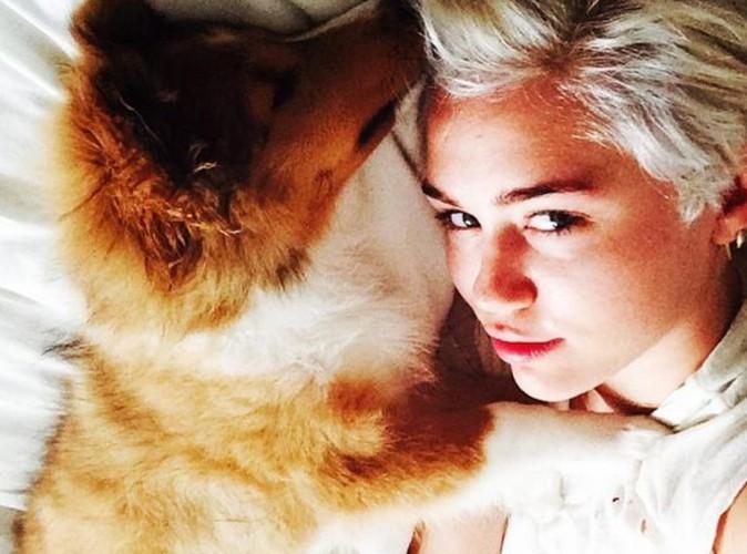 Miley Cyrus : enfin prête à passer le cap de la mort de Floyd, elle présente son nouveau bébé !