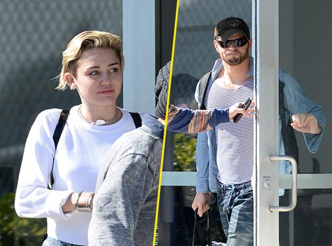 Miley Cyrus et Kellan Lutz à Miami le 18 décembre 2013
