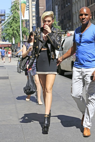 Miley Cyrus à New York, le 16 juillet 2013.
