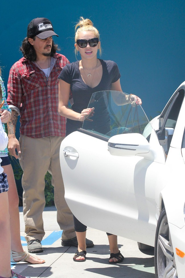 Miley Cyrus le 16 juillet 2012 à Los Angeles