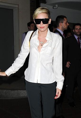 Miley Cyrus à Londres le 19 juillet 2013