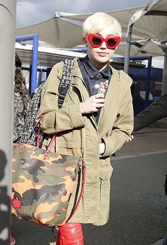 Miley Cyrus à Londres le 6 mai 2014