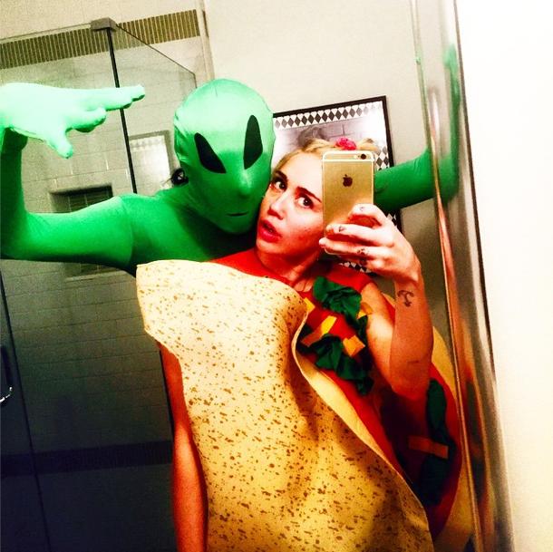 Miley Cyrus le 25 novembre 2014