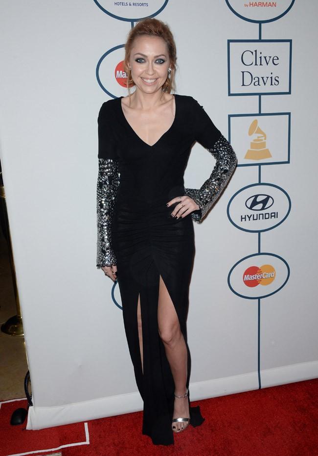Brandi Cyrus à la soirée pre-Grammy Awards organisée à Beverly Hills le 25 janvier 2014