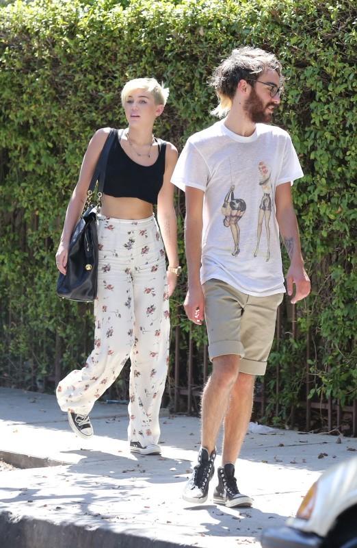 Miley Cyrus, Los Angeles, 14 septembre 2012.