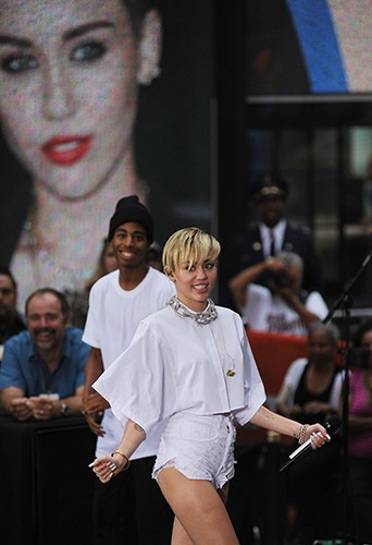 Miley Cyrus à New-York le 7 octobre 2013