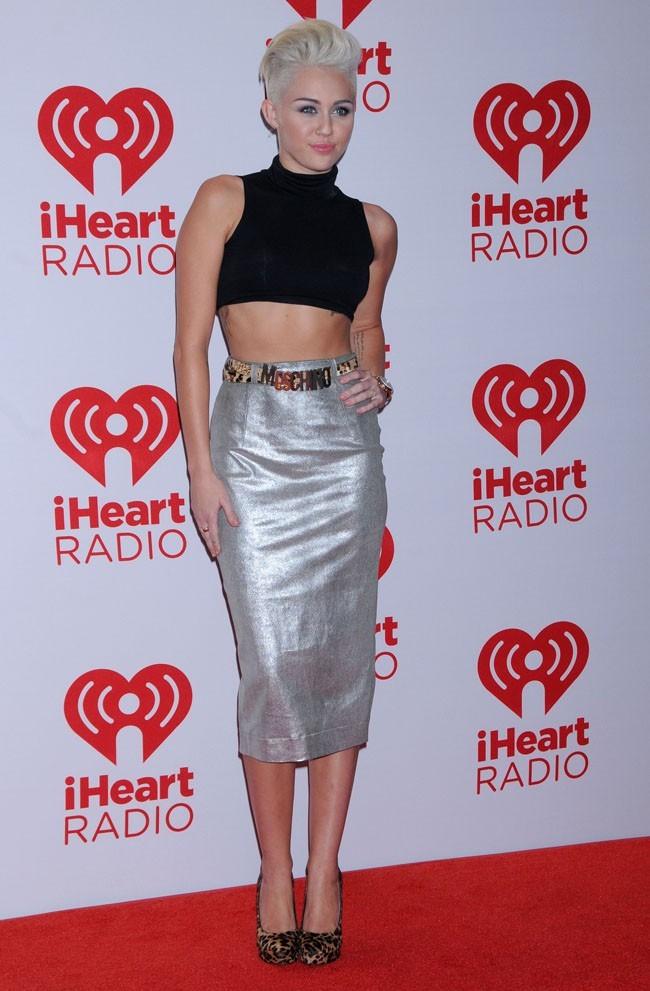 Miley Cyrus le 21 septembre 2012 à Las Vegas