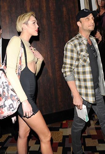 Miley Cyrus à Las Vegas le 27 décembre 2013